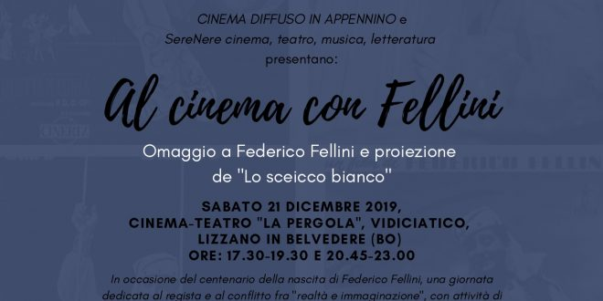 Al cinema con Fellini